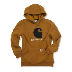 Boys' Big C Fleece Hooded Sweatshirt