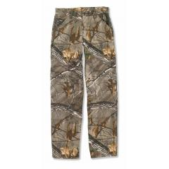 Boys' Washed Work Camo Dungaree