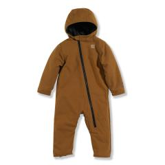 Infant Boys' Quick Duck Snowsuit - Quilted Taffeta Lined
