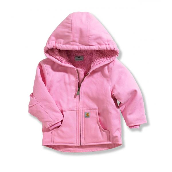 Carhartt Infant and Toddler Girls' Redwood Jacket - Sherpa Lined