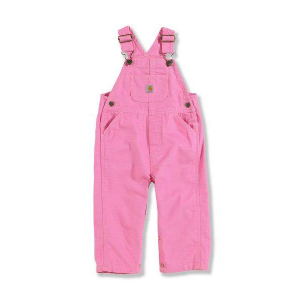 Carhartt Infant Girls' Washed Microsanded Canvas Bib Overall