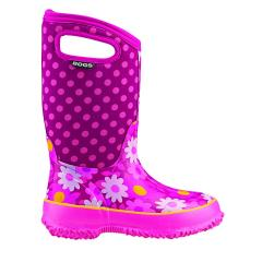 Toddler Girls' Classic Flower Dots Sizes 7-13