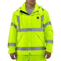 Men's High-Visibility Class 3 Waterproof Jacket