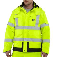 Carhartt Men's High-Visibility Class 3 Sherwood Jacket
