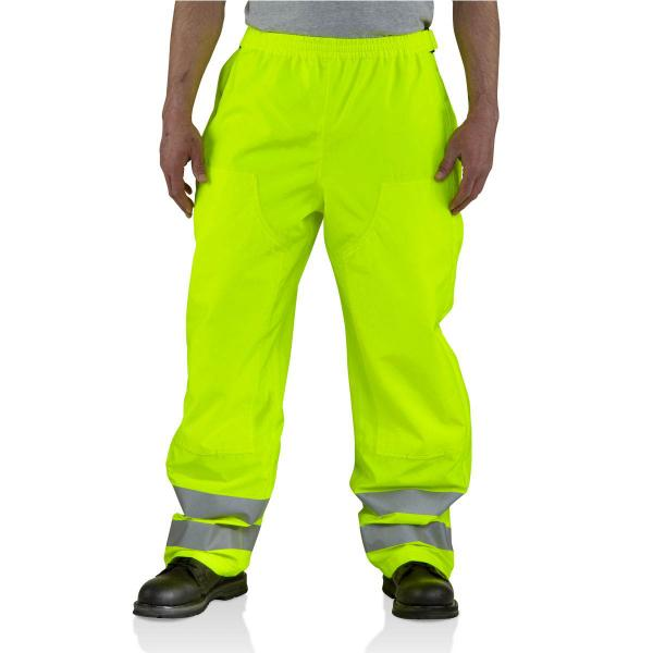 Carhartt Men's High-Visibility Class 3 Waterproof Pant