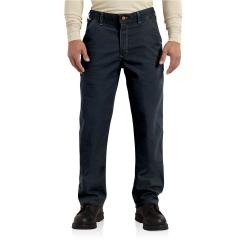 Men's Flame-Resistant Washed Duck Work Dungaree