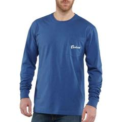 Men's Graphic Fish Pocket Long-Sleeve T-Shirt - Discontinued Pricing