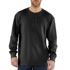 Men's Textured Knit Henley