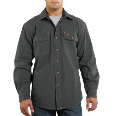 Men's Weathered Canvas Shirt Jac