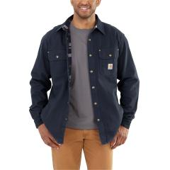 Men's Weathered Canvas Shirt Jac  - Discontinued Pricing