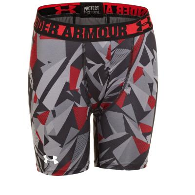 Under Armour Boys' HeatGear Sonic Fitted 4 Inch Short