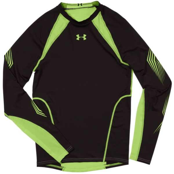 Under Armour Men's UA Purestrike Compression Grippy Long Sleeve T-Shirt