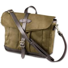 Rugged Twill Messenger Bag