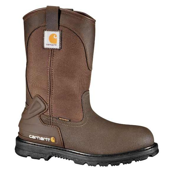Carhartt Men's 11 Inch Bison Waterproof Mud Wellington Steel Toe