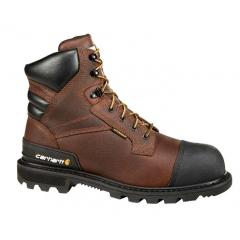 Carhartt Men's 6 Inch Brown CSA Boot Steel Toe