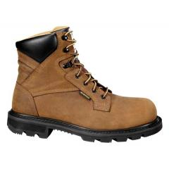 Men's 6 Inch Brown Waterproof Work Boot Steel Toe