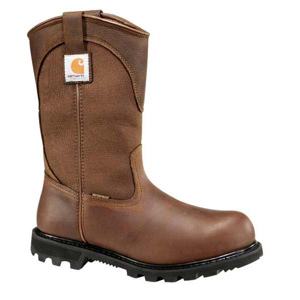 Carhartt Men's 11 Inch Waterproof Wellington - Steel Toe