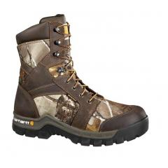 Men's 8 Inch Brown Camo Rugged Flex Composite Toe