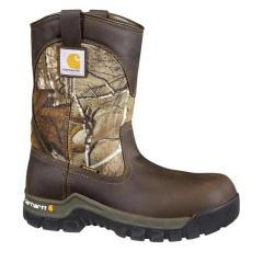 Men's Work Flex 10 Inch Brown and Camo Rugged Flex Composite Toe