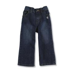 Infant and Toddler Girls' Washed 5 Pocket Denim Jean