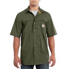 Men's Force Mandan Solid Short-Sleeve Woven