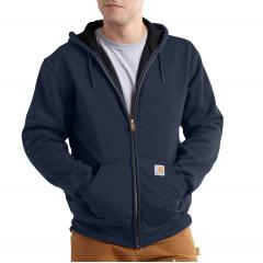 Men's Rain Defender Rutland Thermal-Lined Hooded Zip-Front Sweatshirt