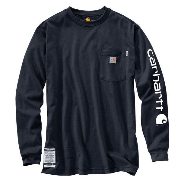 Carhartt Men's Flame-Resistant Force Graphic Long-Sleeve T-Shirt