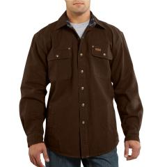 Carhartt Men's Weathered Canvas Shirt Jac - Discontinued Pricing