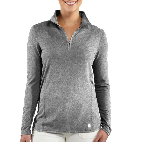Carhartt Women's Force Quarter Zip Shirt Discontinued Pricing