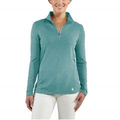 Women's Force Quarter Zip Shirt - Discontinued Pricing