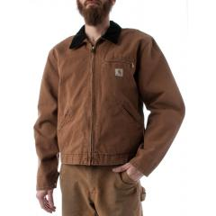 Men's Weathered Red Duck Detroit Jacket - Special Make