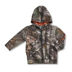 Infant and Toddler Boys' Camo Zip Front Sweatshirt