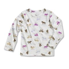 Infant Girls' Printed Long Sleeve T-Shirt