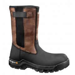 Carhartt Men's 10 Inch Wellington Rugged Flex WP Wellington Composite Toe