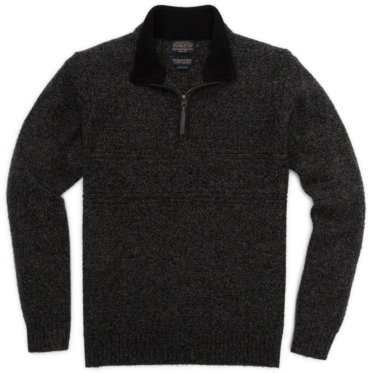 Pendleton Men's Shetland Half Zip Sweater discontinued