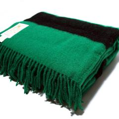 Green Caribou Throw