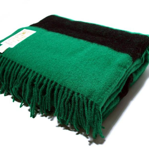Hudsons Bay Green Caribou Throw