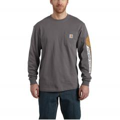 Carhartt Men's Workwear Graphic Field Tested Long-Sleeve T-Shirt