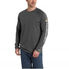 Carhartt Men's Force Cotton Delmont Sleeve Graphic T-Shirt