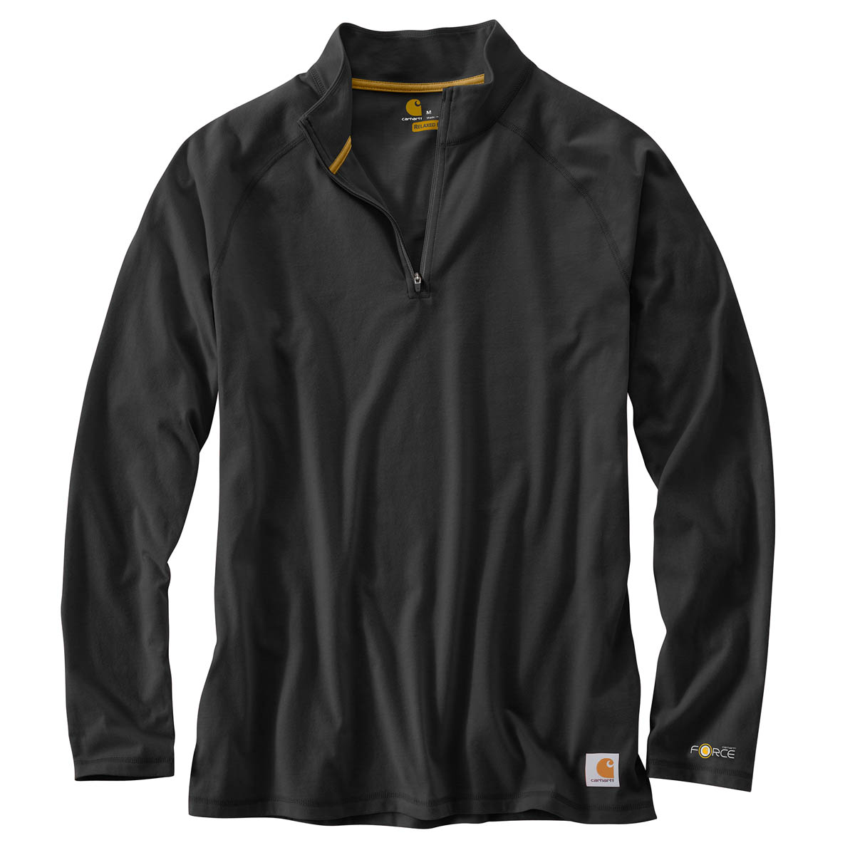 Carhartt Men's Force Cotton Delmont Quarter Zip