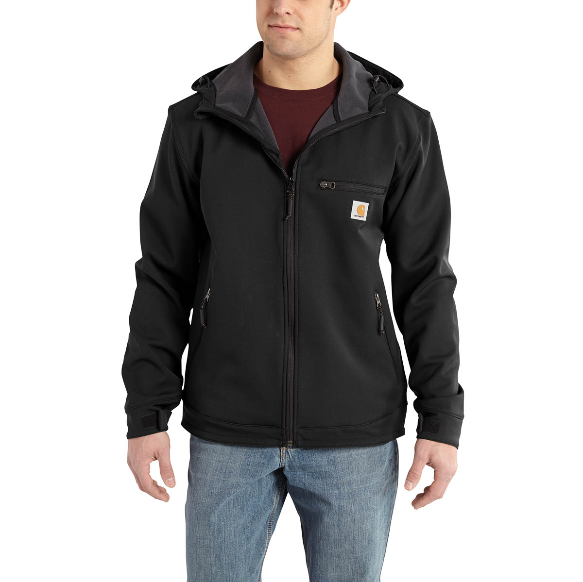 Carhartt Men's Crowley Hooded Jacket Discontinued Pricing