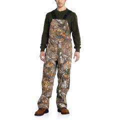 Men's Camo Shoreline Bib Overalls - Discontinued Pricing