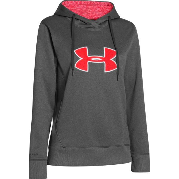 Under Armour Women's UA Big Logo Applique Hoody