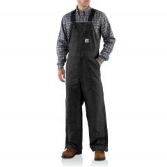 Men's Flame Resistant Canvas Bib Lined Overall