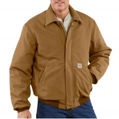 Men's Flame Resistant Duck Bomber Jacket