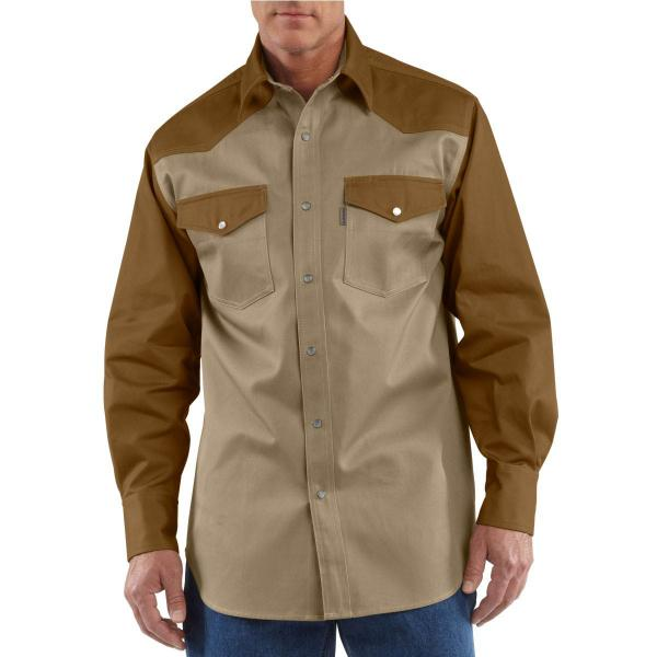Carhartt Men's Ironwood Twill Work Shirt - Discontinued Pricing