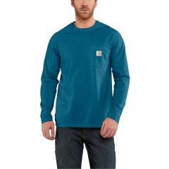Carhartt Men's Force Cotton Long-Sleeve T-Shirt - Past Season