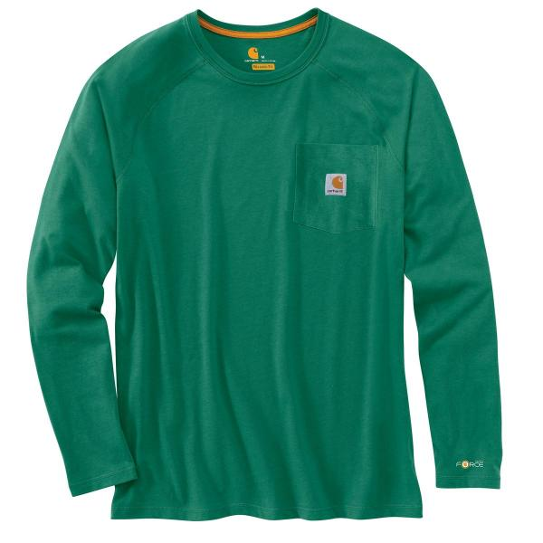 Carhartt Men's Force Cotton Long-Sleeve T-Shirt - Discontinued Pricing