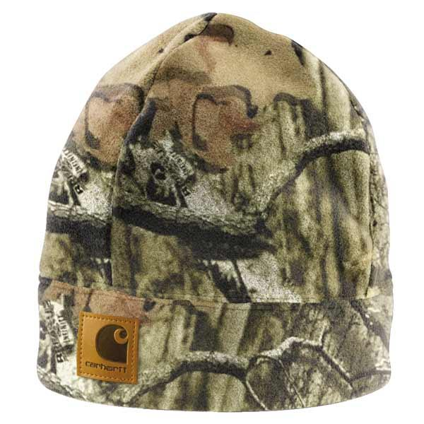 Carhartt Men's WorkCamo Fleece Hat - Discontinued Pricing