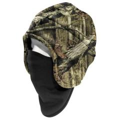 Men's Camo Fleece 2-in-1 Headwear - Discontinued Pricing